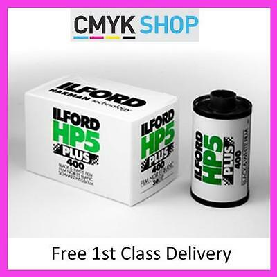ILFORD HP5 400 PLUS 35mm 36exp B+W (3 Pack) **Free UK 1st P&P**