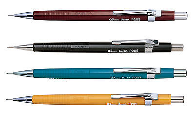 Pentel P200  Automatic Mechanical Draughting Pencil 0.3, 0.5, 0.7, 0.9mm