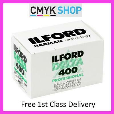 Ilford Delta 400 Professional 35mm 36 exp (3 Pack) **Free UK 1st P&P**