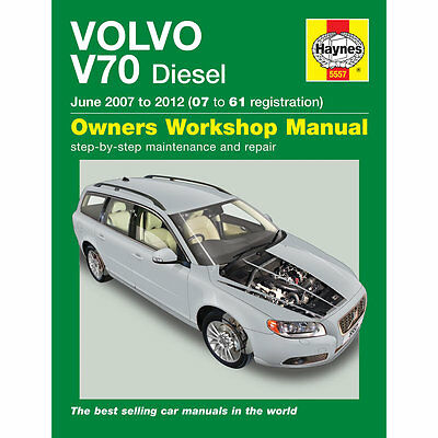 haynes owners workshop manual volvo v70 2007 2012 diesel maintenance rh picclick co uk 2017 Volvo V70 2001 Volvo V70