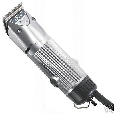 Oster A5 GOLDEN 1 Speed Clipper & # 10 CRYOGENX agION Blade Dog Horse Cat *NEW