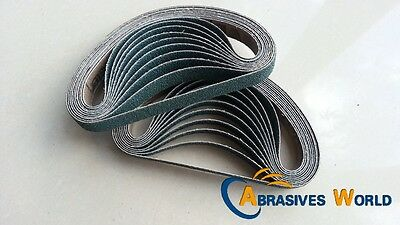 20PCS 330mm X 10mm Abrasive Zirconia Sanding belts, 60 grit for Metal And Auto