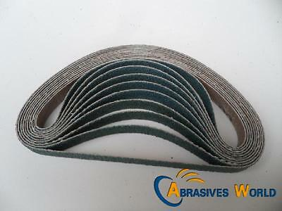 20PCS 330mm X 13mm  Abrasive Zirconia Sanding belts 60 grit for Metal And Auto