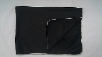 ***CLEARANCE- FIREPROOF BLACK COTTON FENDER COVER  40x55- MADE IN THE USA***