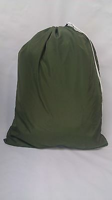 OLIVE DRAB (OD GREEN) CAMO 30x40 NYLON LAUNDRY BAG  ***MADE IN USA***