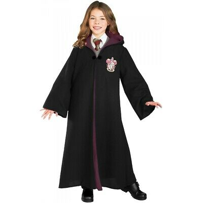 Harry Potter Costumes Kids Gryffindor Robe Halloween Fancy Dress
