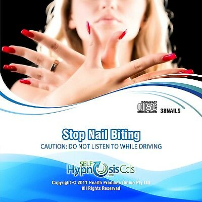 Stop Nail Biting Hypnosis Audio CD - Self Help Hypnotherapy Stress Relaxation