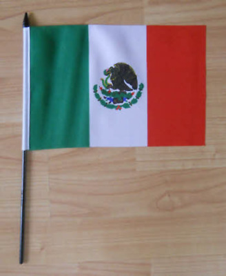 Mexico Country Hand Flag - medium