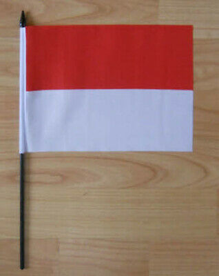 Monaco Country Hand Flag - medium