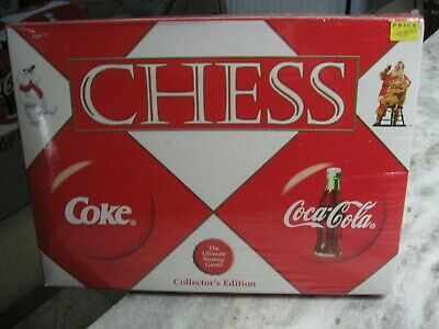 Coca Cola Christmas Edition Classic Chess Game - Nib