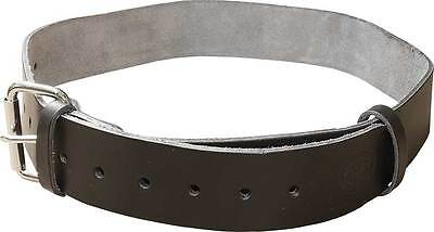 Black Leather XL Scaffolding Tool Work Belt - UK Made - Connell Of Sheffield