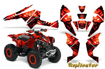 Can-Am Renegade Graphics Kit by CreatorX Decals Stickers RCR