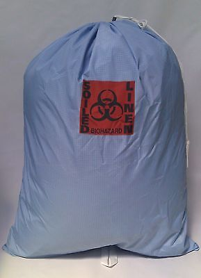 5 Medical Grade Fluid/waterproof Barrier Laundry Bags -Soiled Linen/biohazard