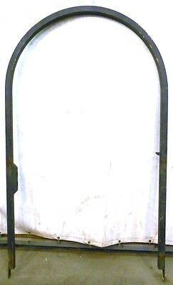 """Iron Arch Black Color, 52 1/2"""" Wide X 91"""" Height, Gate May Be Able To Attach"""