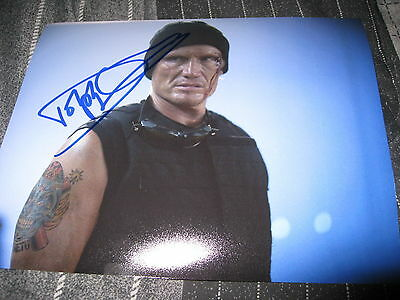 DOLPH LUNDGREN SIGNED AUTOGRAPH 8x10 PHOTO EXPENDABLES 2 ROCKY IN PERSON COA C