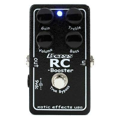 NEW! Xotic Effects RC BASS BOOSTER Pedal - Ultra Clean Boost - Active Bass EQ