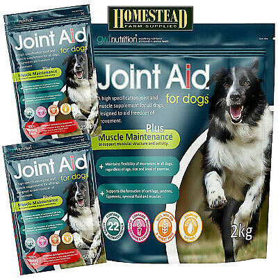 JOINT AID FOR DOGS WITH GLUCOSAMINE - 250g 500g 1kg 1.5kg 2kg MAINTAINS JOINTS