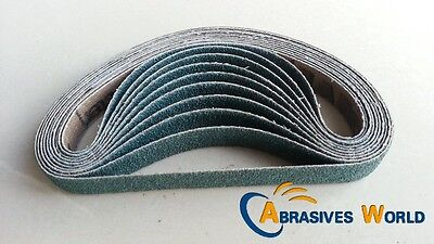 50PCS 330mm X 10mm Abrasive Sanding belts, 60 grit for Metal And Auto