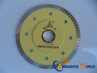 "2 PCS 4"" (100mm) DIAMOND CUTTING DISCS BLADE FOR CERAMIC, PORCELAIN TILE GRANITE"