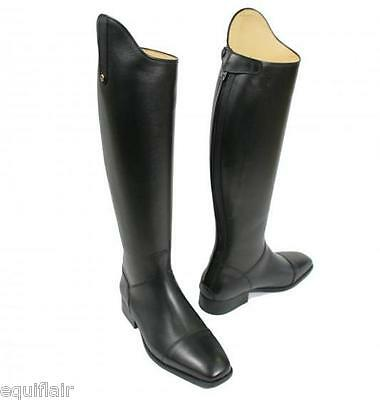 NEW SERGIO GRASSO VINCENZA SQUARE TOE LONG LEATHER RIDING BOOTS - SIZES 38 to 41