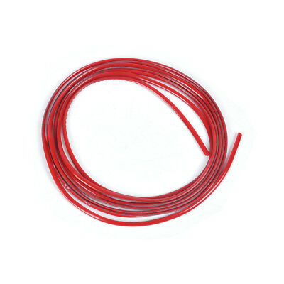 DIY Dream 3 Meters 4mm Car Decoration MOULDING Trim Strip Line w/3M tape red
