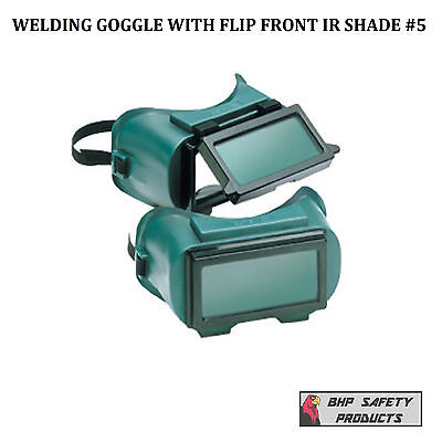 Welding Goggles With Flip Front 5.0 Ir Lens Gateway 1700 (1 Each)