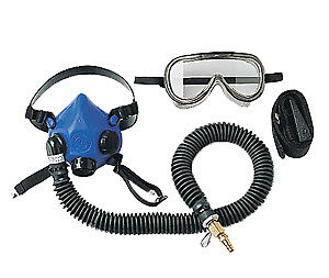 SAS Safety 9813-20 Professional Supplied-Air Halfmask (large)