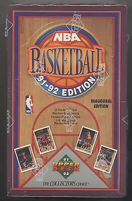 1991/92 Upper Deck Basketball Low # Box Inaugural Ed. HOBBY FACTORY SEALED MINT