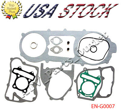 Long Case 11 Pcs GY6 150cc Complete Gasket Set Scooter Moped Go Kart Quad ATV