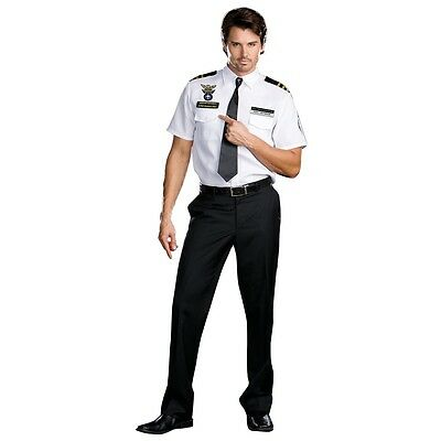 TSA Costume Adult Funny Police Officer Cop Halloween Fancy Dress