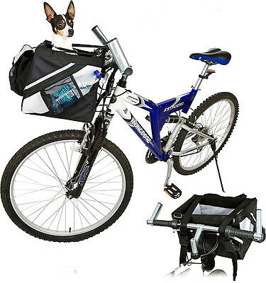 Bicycle Pet Carrier Front Box For Dog Puppy Cat S/m