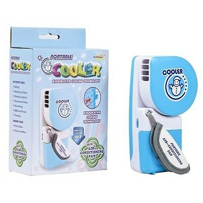 USB Mini Portable Handheld Air Conditioner Cooler Fan Summer Cooling Handy Tool