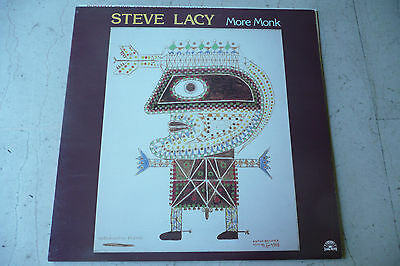 "STEVE LACY""MORE MONK disco 33 giri  SOUL NOTE Italy 1991 JAZZ"""