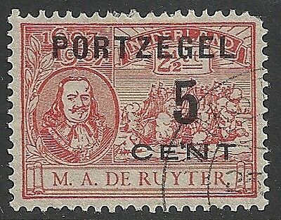 Netherlands stamps 1907 NVPH Due 35fa  CANC  F/VF