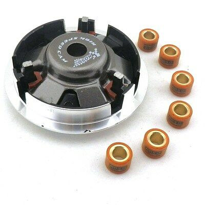 Performance Clutch Variator w/12GRAM Roller Weights 150cc Scooter Moped