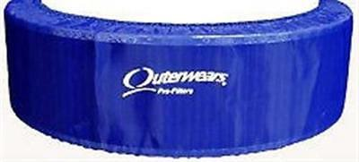 Outerwear Blue 14 x 4 Air Cleaner Dirt Racing Modified UMP IMCA Outer Wear BLU