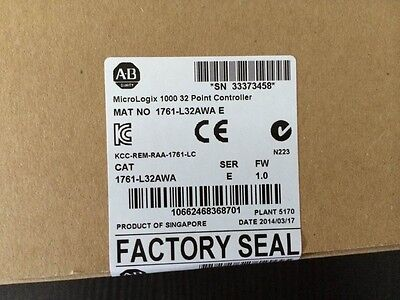 2014 New IN Seal box AB Allen Bradley PLC 1761-L32AWA MicroLogix 1000 120/240V