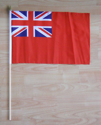 Red Ensign Hand Flag - large