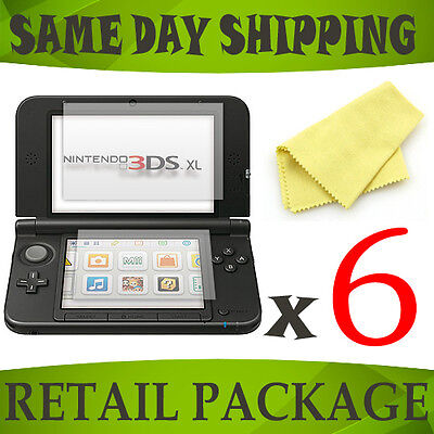 6 x lcd screen display saver for Nintendo 3DS XL SPM7800 - console accessory