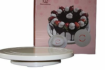 CAKE Turntable for Cake Decorating, Sugarcraft, Baking, Display, Icing Stand