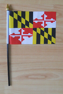 Maryland Hand Flag - small