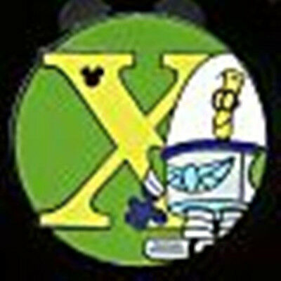X XR Space Rangers Alphabet from Toy Story Hidden Mickey Disney Pin