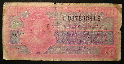 Series 521 Ten Cents Military Payment Certificate!