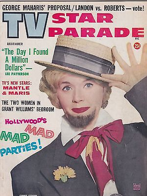 DEC 1961 TV STAR PARADE vintage movie magazine CONNIE STEVENS