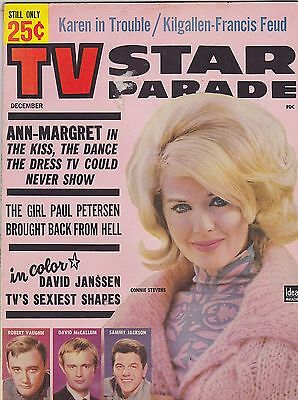 DEC 1964 TV STAR PARADE vintage movie magazine CONNIE STEVENS