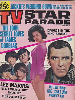 NOV 1966 TV STAR PARADE vintage movie magazine BARBARA PARKINS