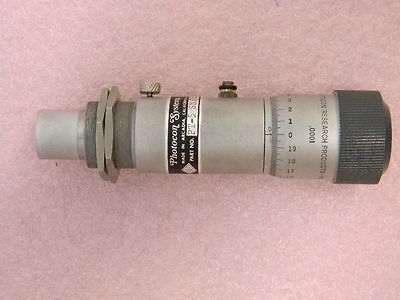 """Photocon Systems PT-5 Accelerometer w/ Micrometer ½"""" .0001"""" inc."""