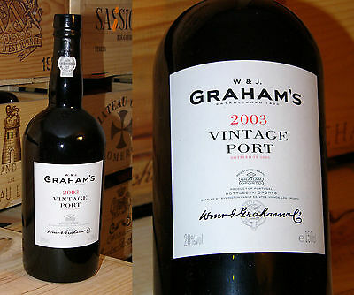 2003er Graham's  Vintage Port - Magnum - Monster Port *****