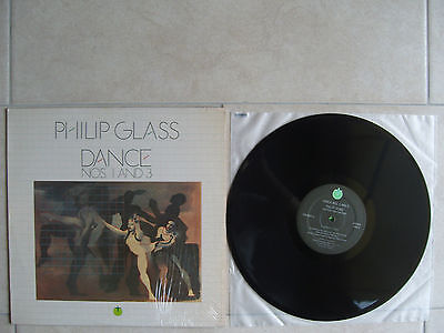 "PHILIP GLASS ""DANCE NOS. 1 AND 3"" LP Tomato US 1980"