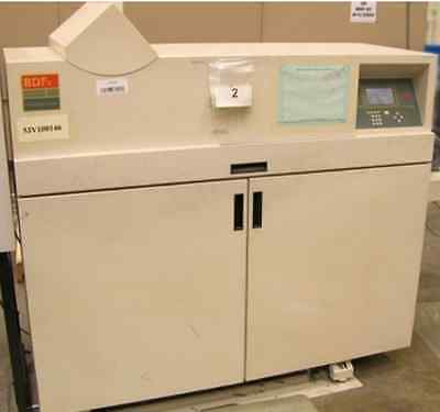 Bourg BDF Booklet Maker/Document Finisher BDFx Collator
